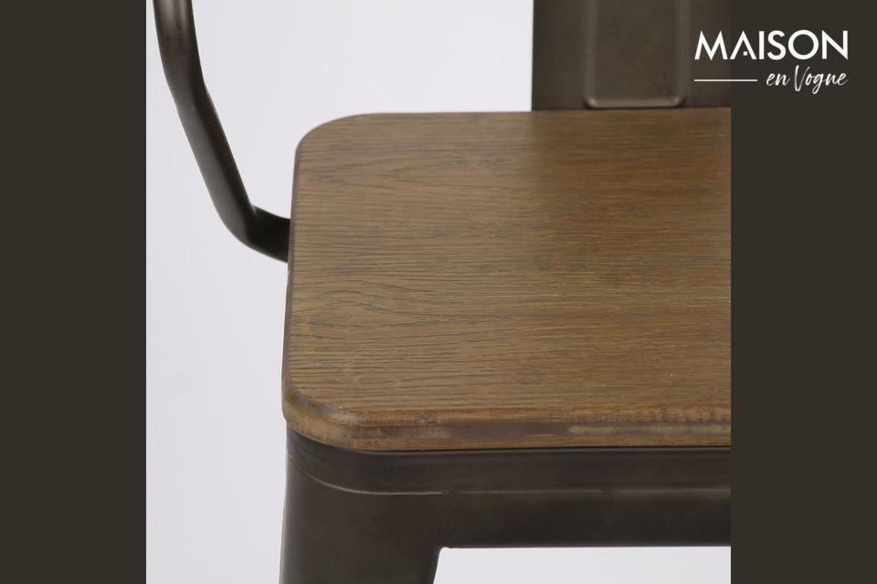 Une chaise urbaine et indus pour donner du style à votre intérieur