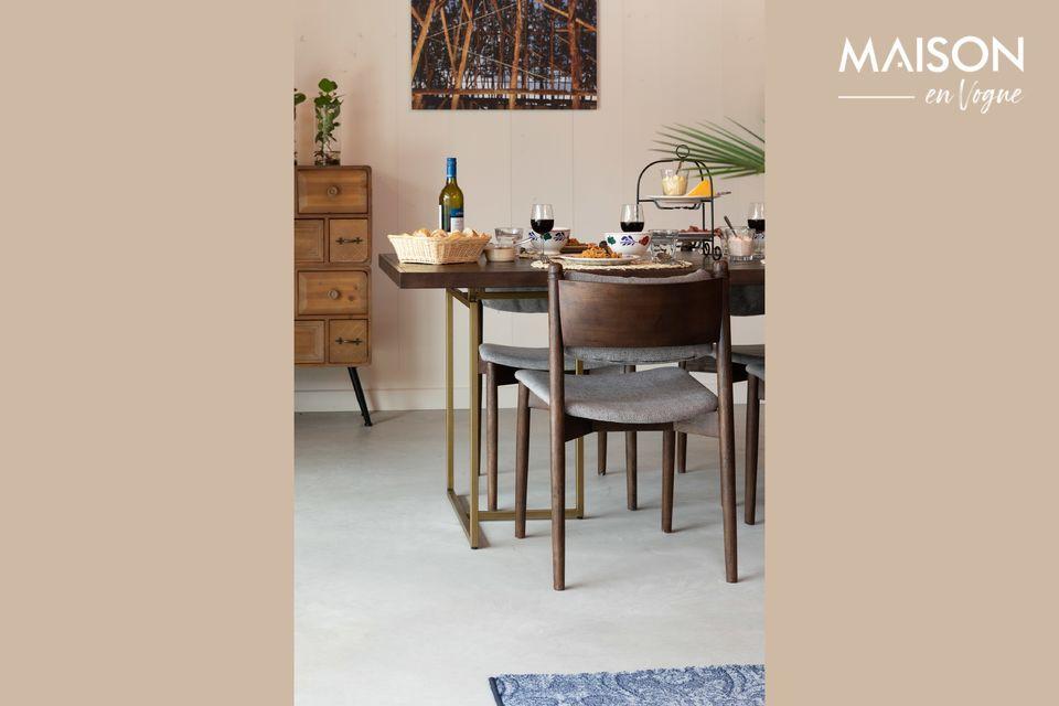 Inspirée du mobilier des années 1960