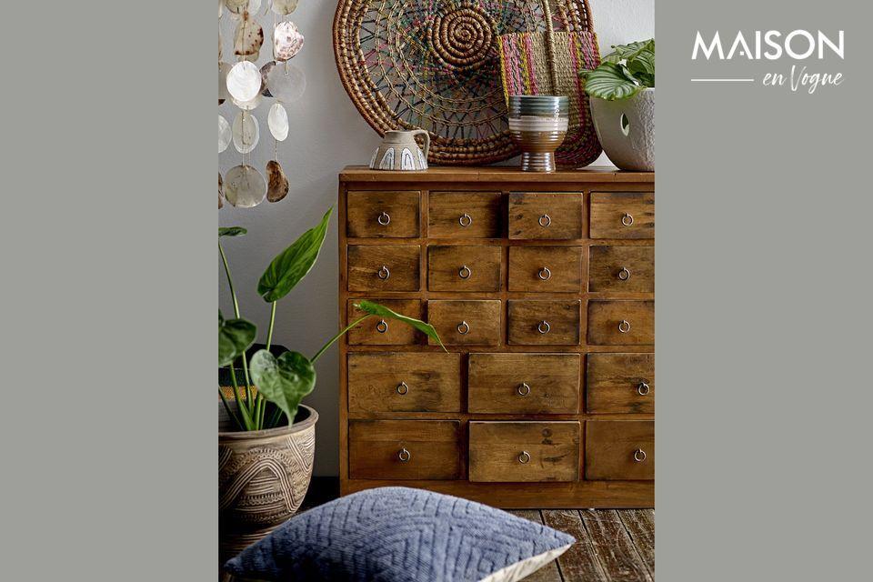 Le charme d'un meuble de métier pour une ambiance Boho