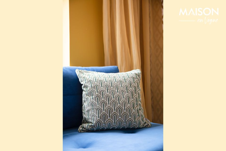 Coussin Beverly Green Zuiver