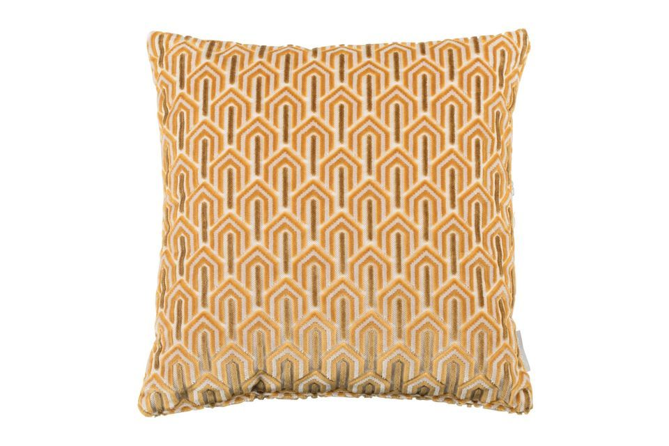 Coussin Beverly Jaune