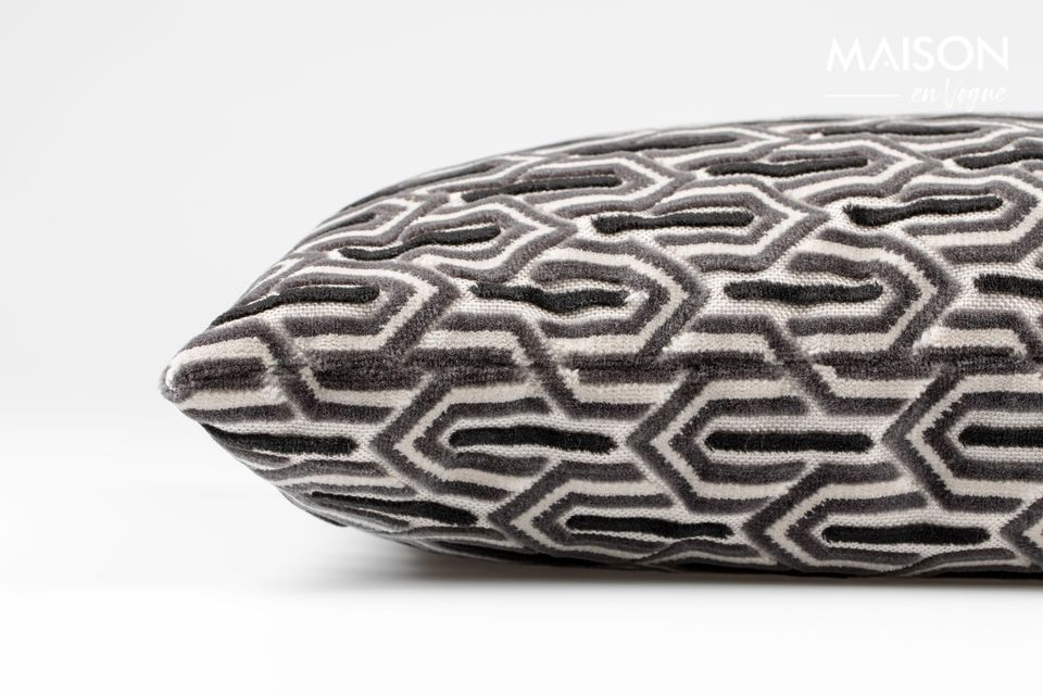 Coussin Beverly Noir - 4