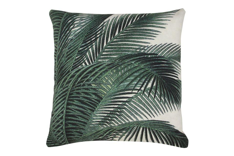 Coussin Bourth à imprimé feuilles de palmier - 3