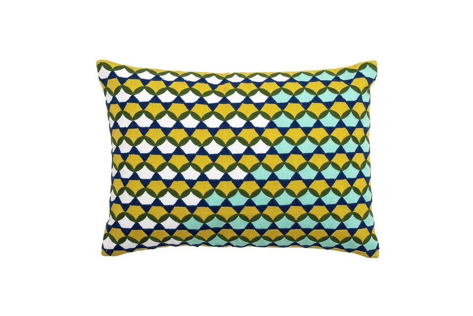 Coussin Coulx vert