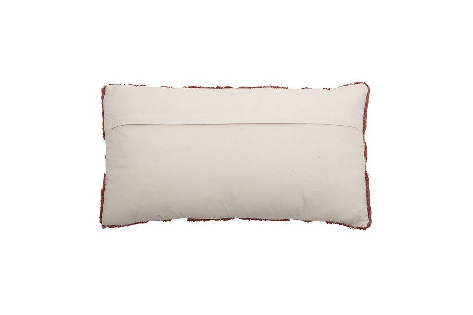 Ce coussin lombaire majoritairement en coton vous apportera tout le confort nécessaire tout en