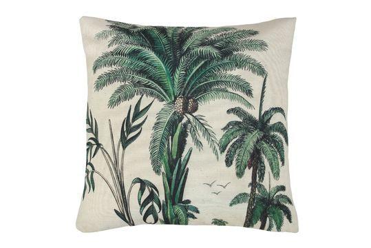 Coussin Dosnon à imprimé palmiers Détouré