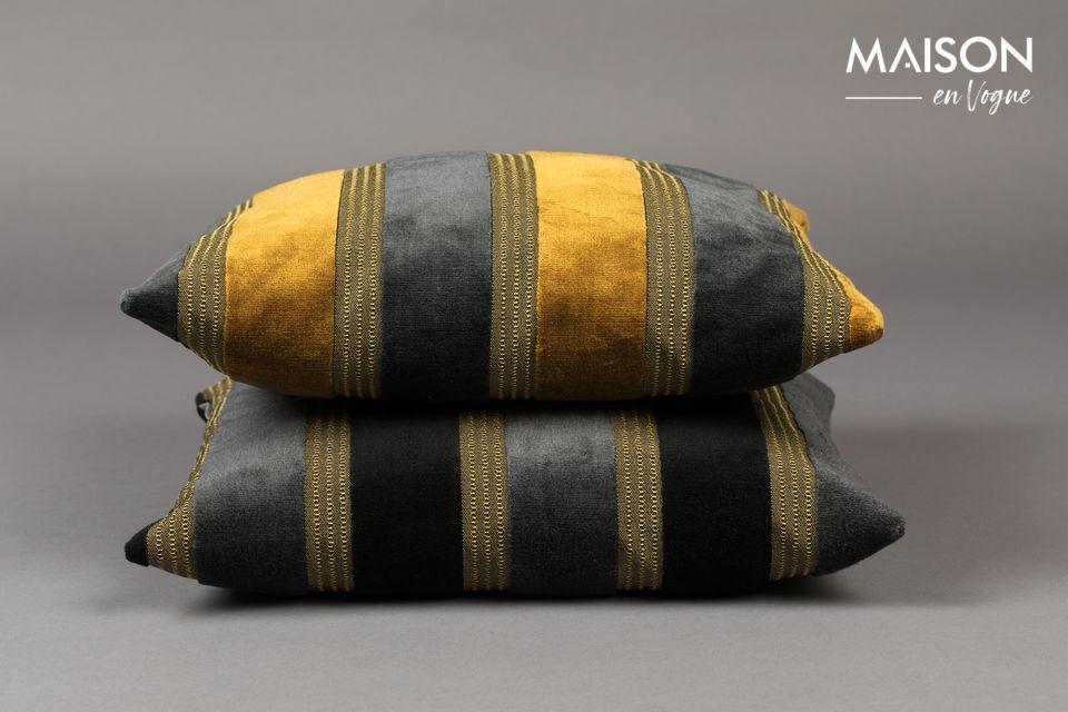 Plongez au cœur du XXème siècle avec le coussin Scott de Dutchbone et son style inspiré des