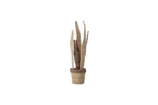 Décoration florale Warluzel en bois