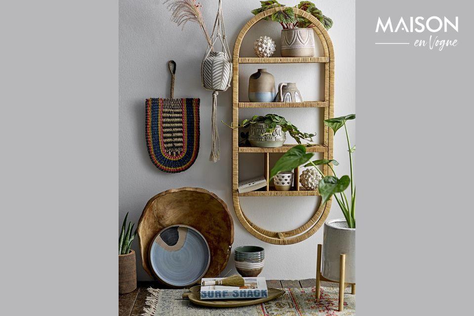 Très colorées, vous pouvez aussi les poser sur un meuble pour y accueillir un objet