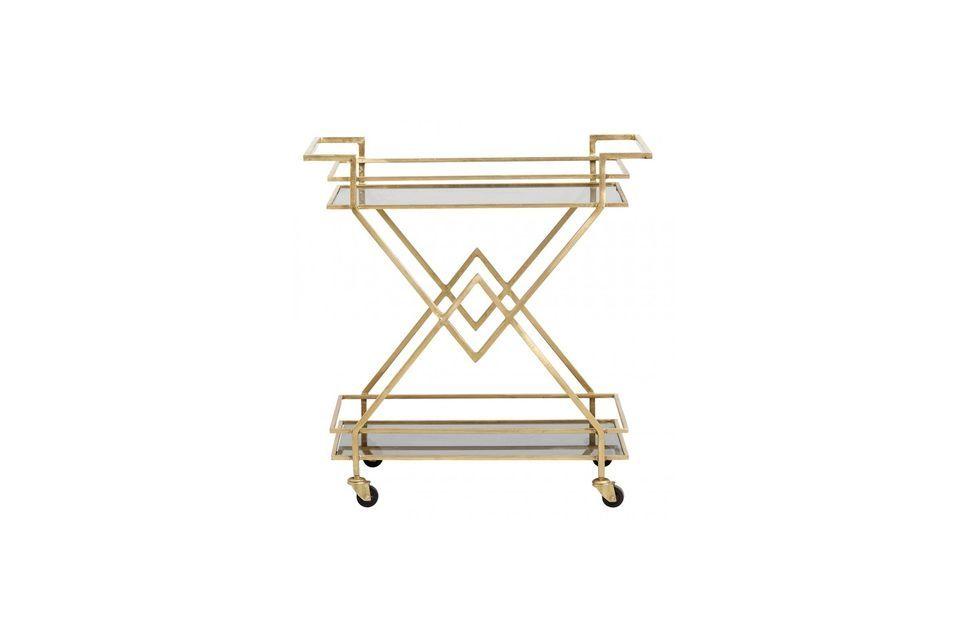 Son design sophistiqué apporte une touche art déco dans le salon, la salle à manger ou la cuisine