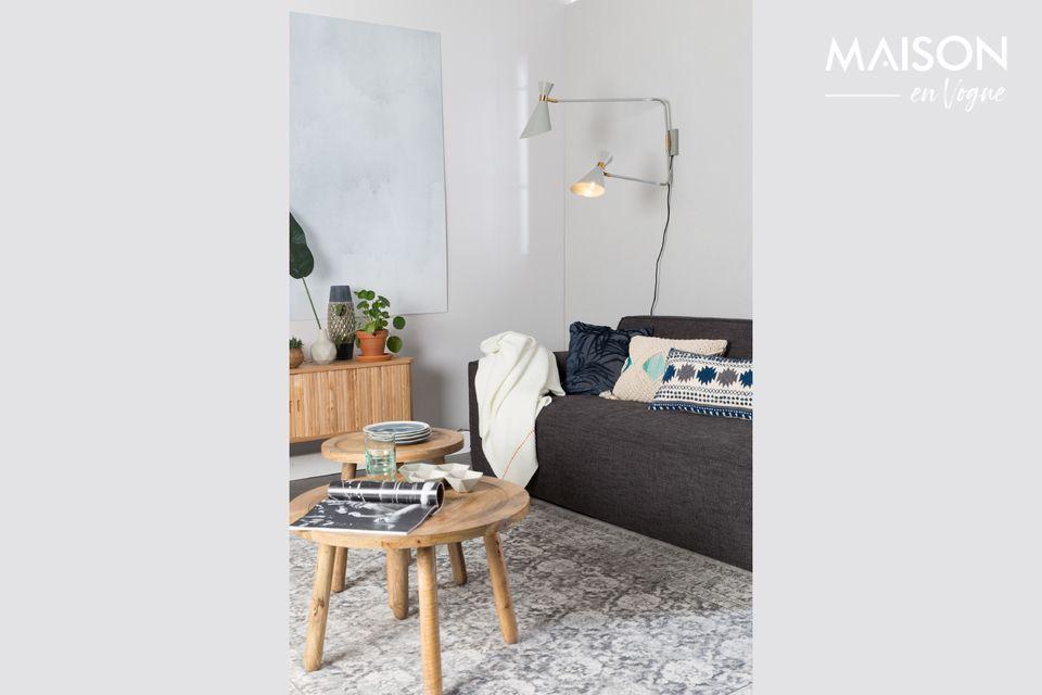 Une lampe bi-matière esthétique et pratique