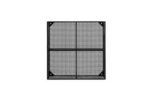Etagère en métal noire Wire avec 4 compartiments Détouré