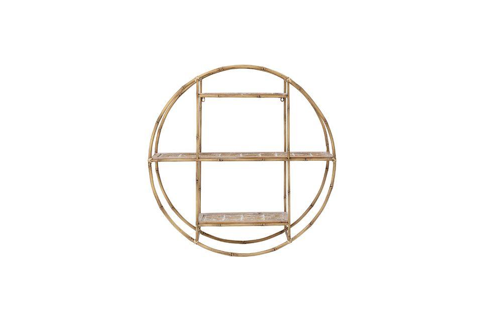 Sa forme ronde ajoutera une touche d\'originalité à votre décoration