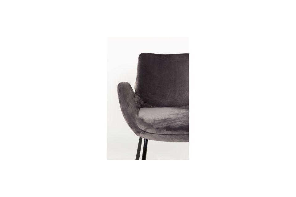 Fauteuil Brit gris foncé - 6