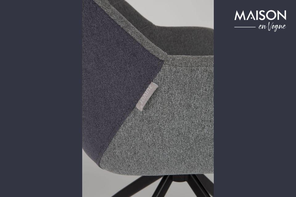 Ce fauteuil doit sa classe et son élégance à son look rétro
