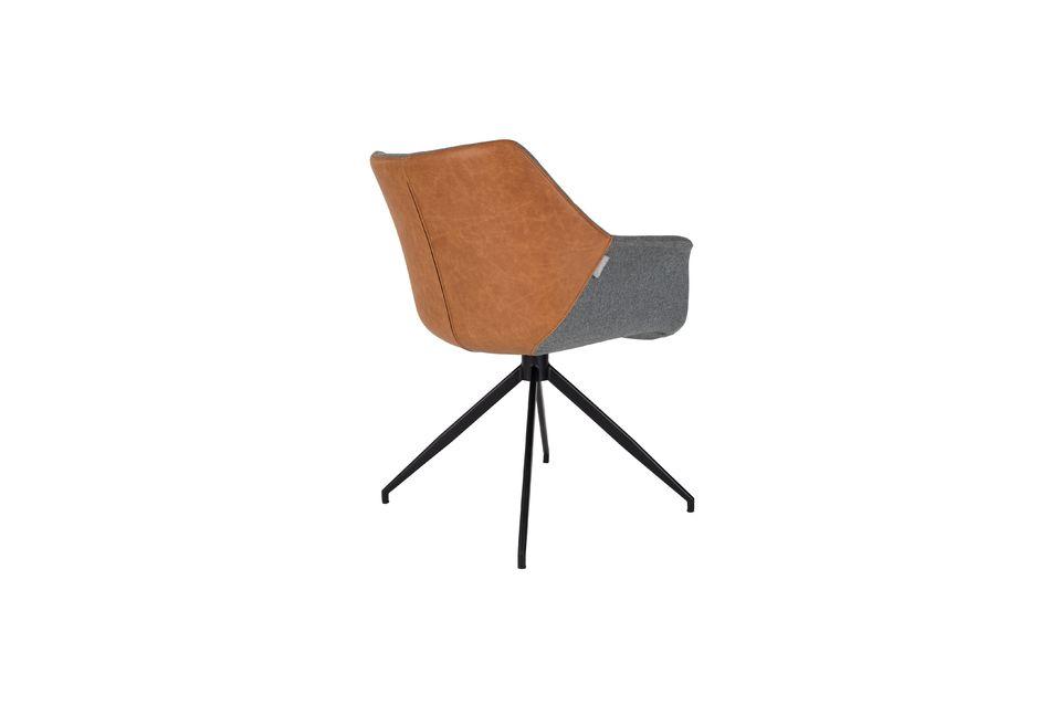 Fauteuil Doulton Vintage Brown - 8
