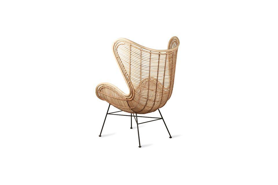 Profitez de ce meuble design pour agrémenter un coin lecture, le séjour ou un patio