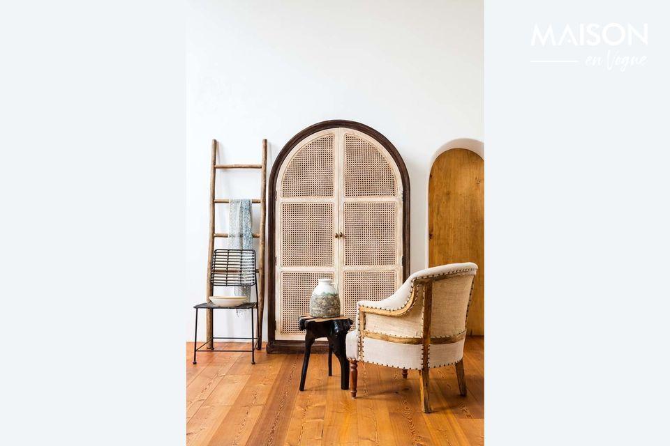 La fauteuil Valbelle trouvera sa place dans un intérieur sobre et raffiné