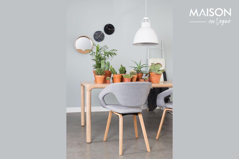 Style et modernité pour un fauteuil très confortable