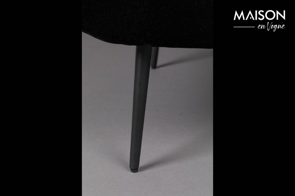 Fauteuil Glodis noir - 2