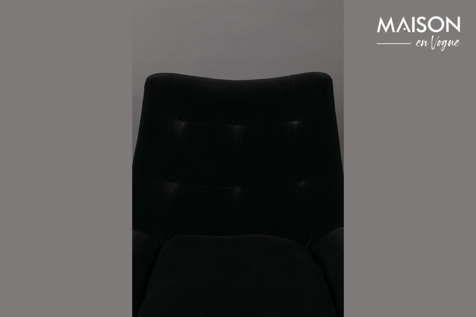 Et c\'est une excellente chose, car Glodis est un joli fauteuil où il fait bon prendre place