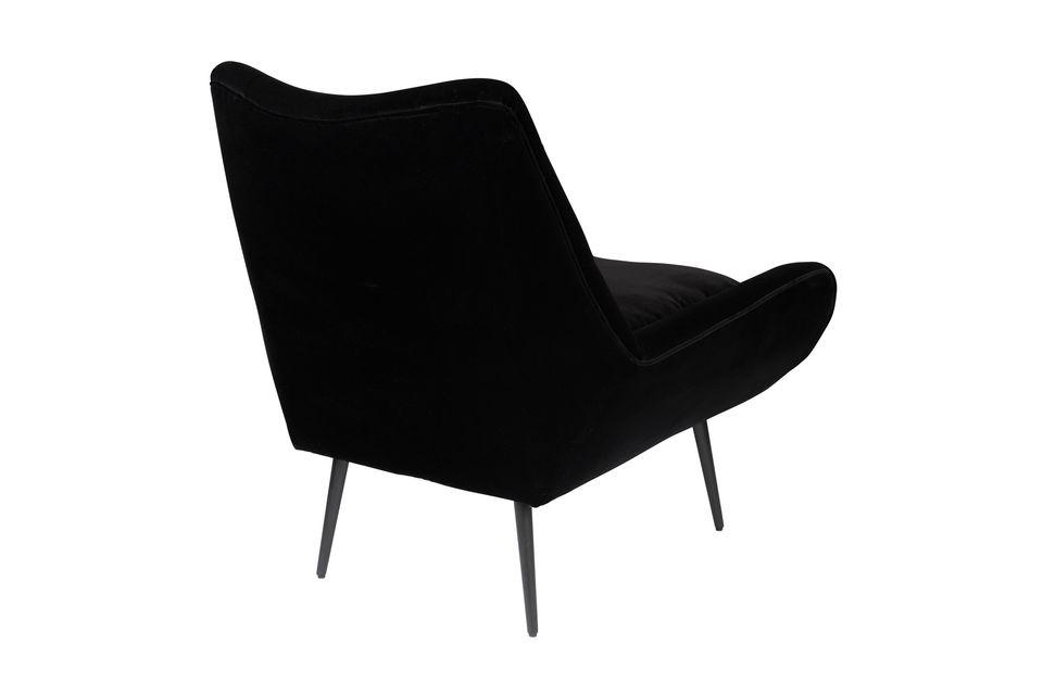 Fauteuil Glodis noir - 9