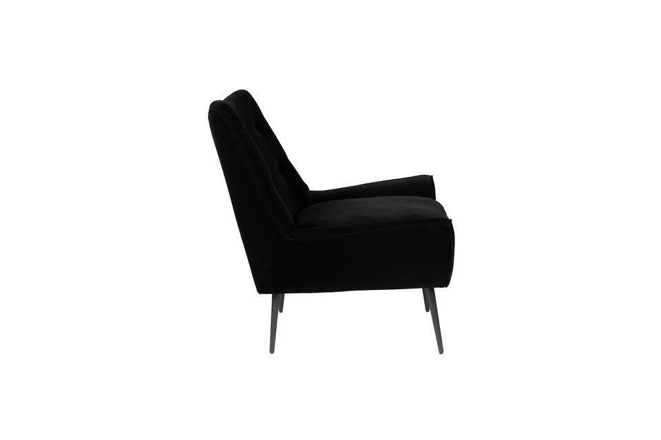 Fauteuil Glodis noir - 10