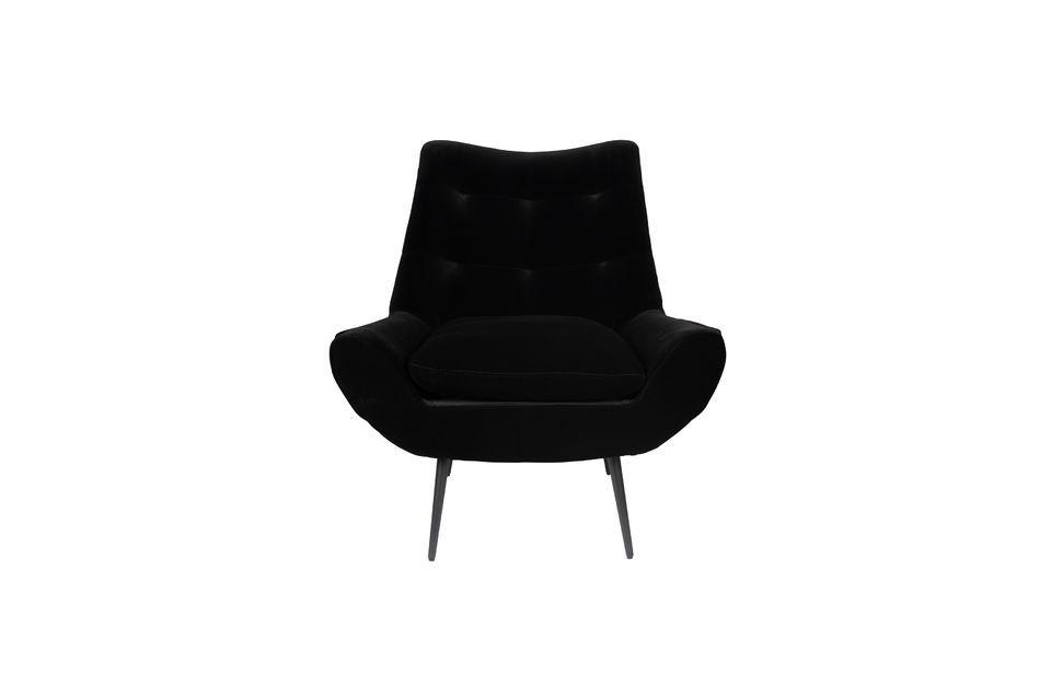 Fauteuil Glodis noir - 11