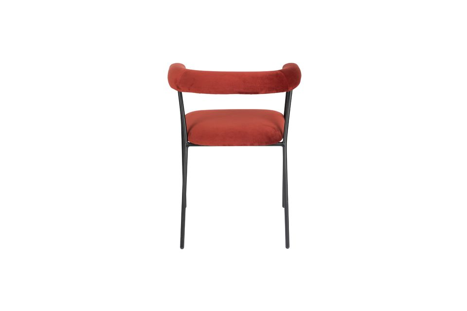 Fauteuil Haily Wine Red - 6