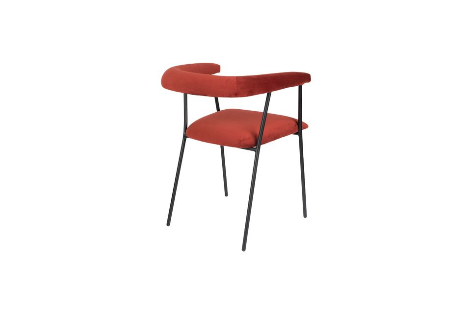 Fauteuil Haily Wine Red - 7