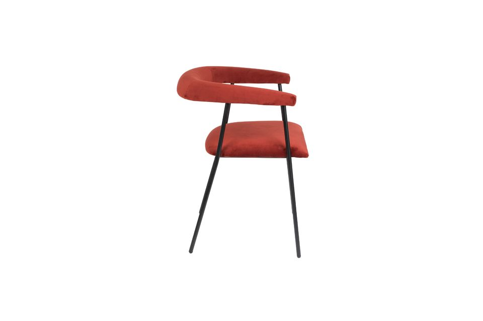 Fauteuil Haily Wine Red - 8