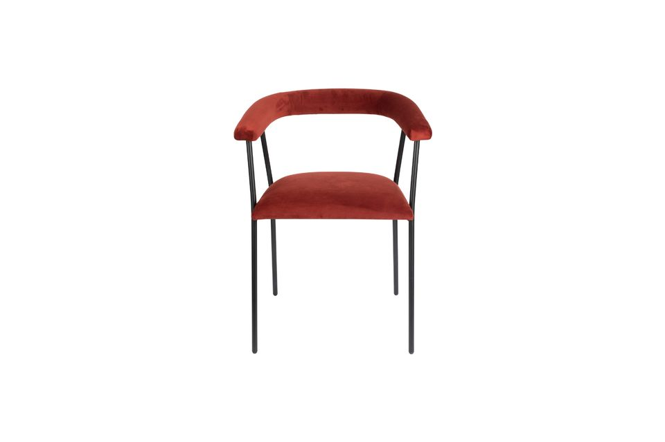 Fauteuil Haily Wine Red - 9