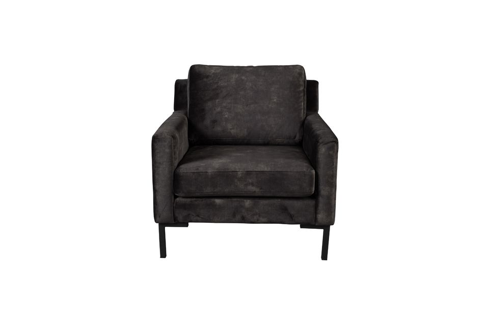 Fauteuil Houda 1 place anthracite - 7