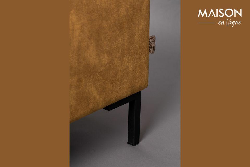 L\'assise et le dossier ont été spécialement conçus pour assurer un confort de qualité