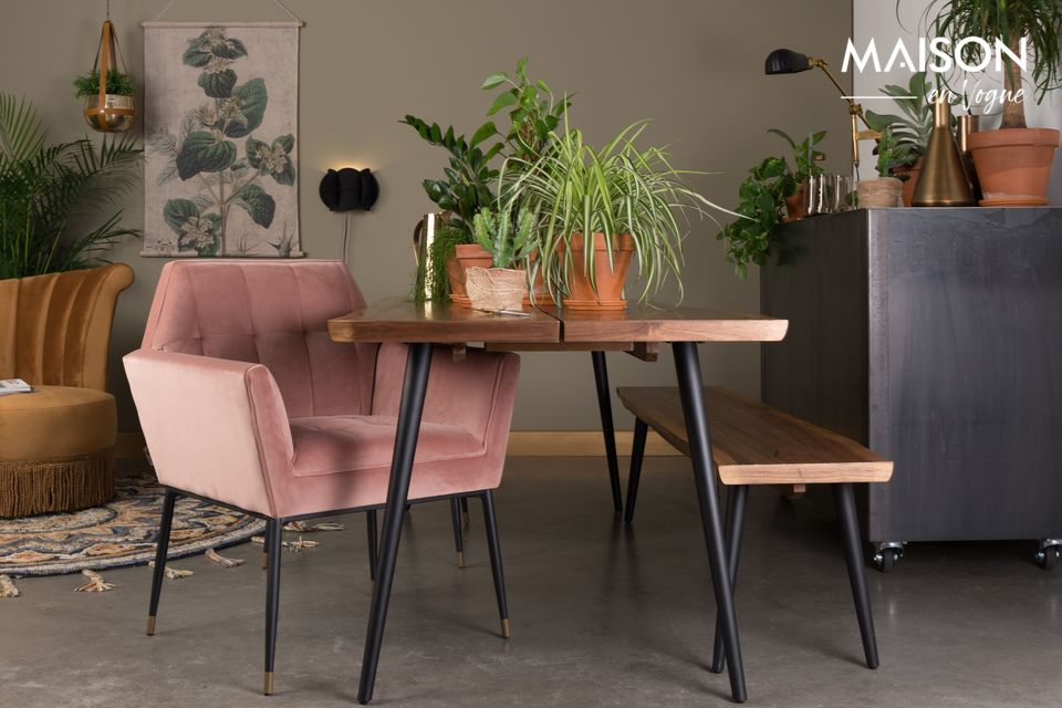 Un fauteuil de style Art Déco au design luxueux