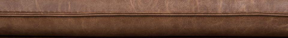 Mise en avant matière Fauteuil lounge Bon coloris brun