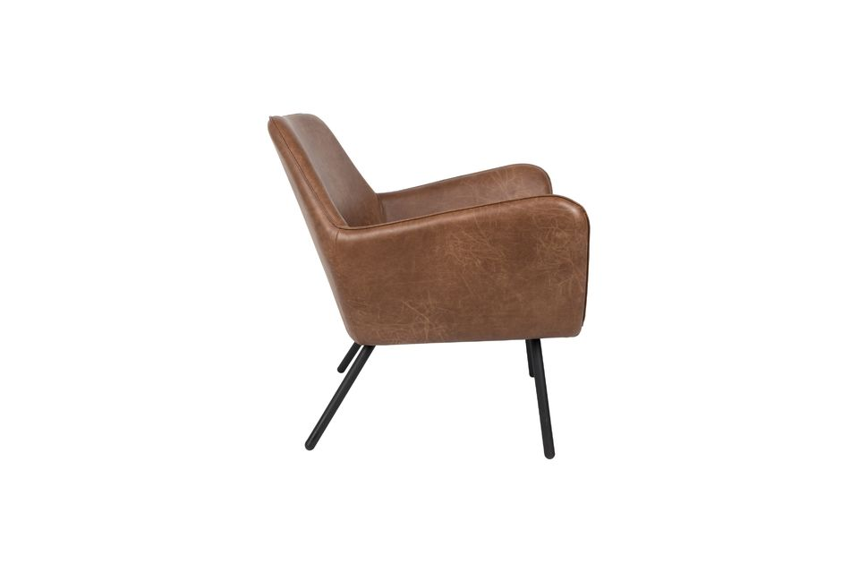 Fauteuil lounge Bon coloris brun - 10