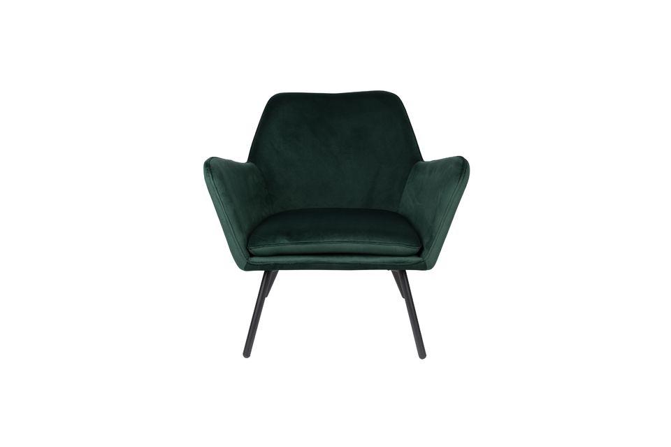 Ajoutons à cela un coussin d\'assise amovible et voici un fauteuil où il fait bon s\'installer