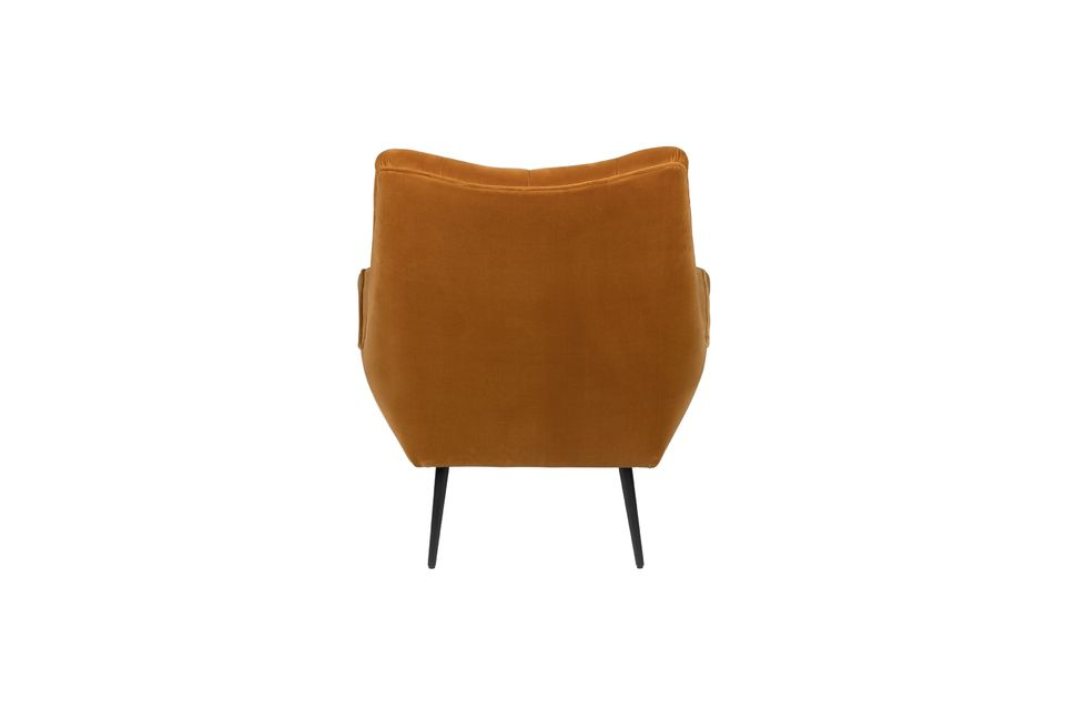 Fauteuil lounge Glodis whisky - 9