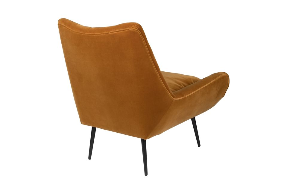 Fauteuil lounge Glodis whisky - 10