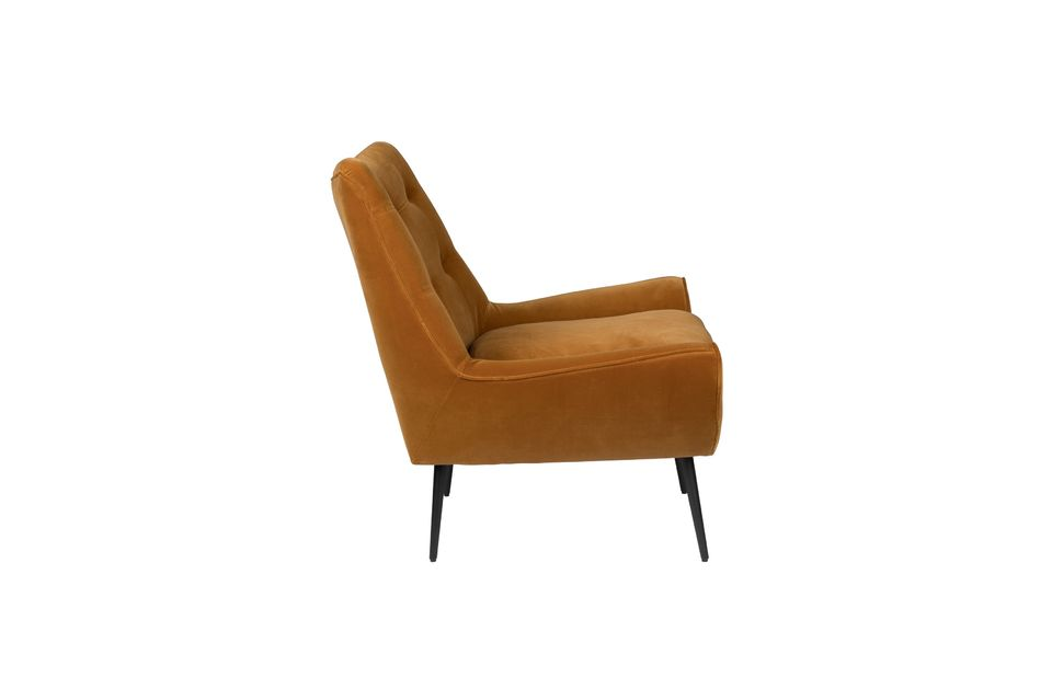Fauteuil lounge Glodis whisky - 11