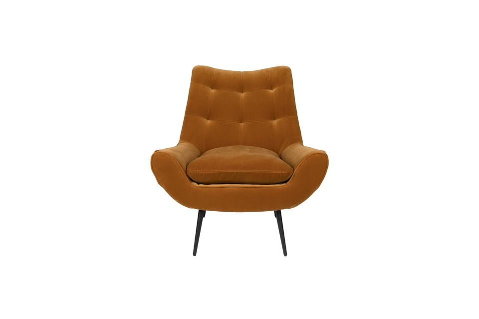 Fauteuil lounge Glodis whisky - 12