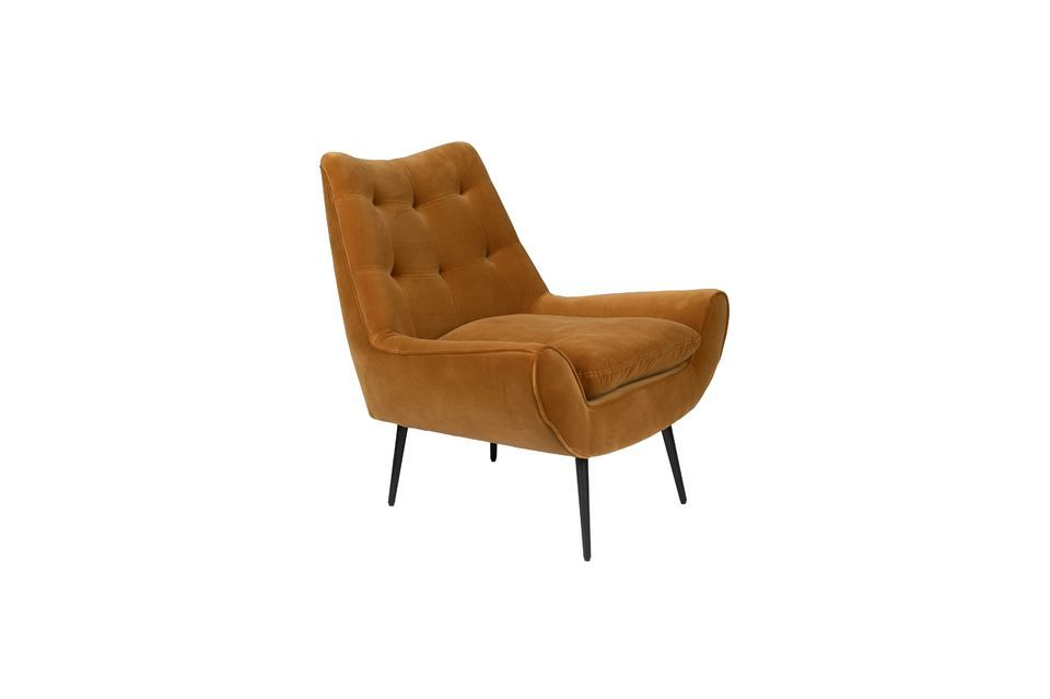 Fauteuil lounge Glodis whisky - 8