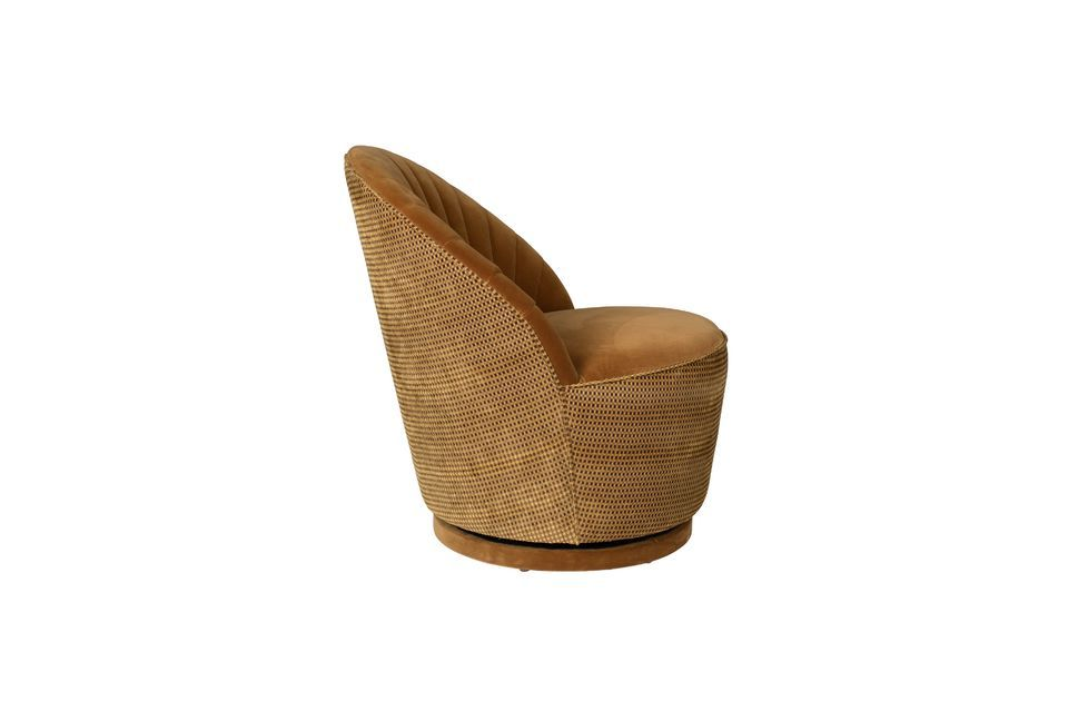 Fauteuil lounge Madisson couleur whisky - 10