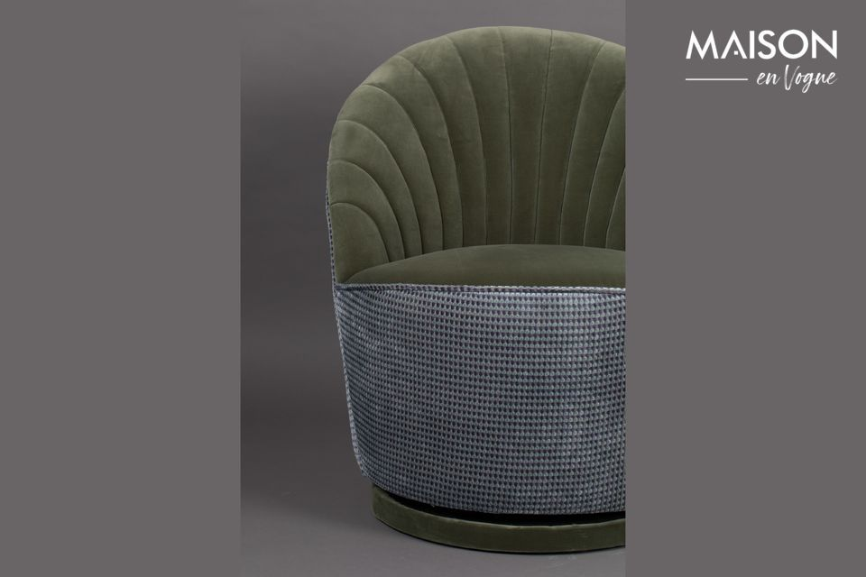 Fauteuil Madison Olive - 5