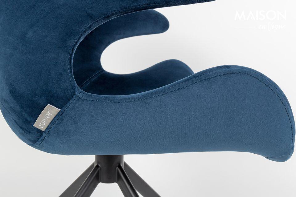 Fauteuil Mia Bleu - 4