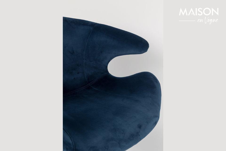 Fauteuil Mia Bleu - 5