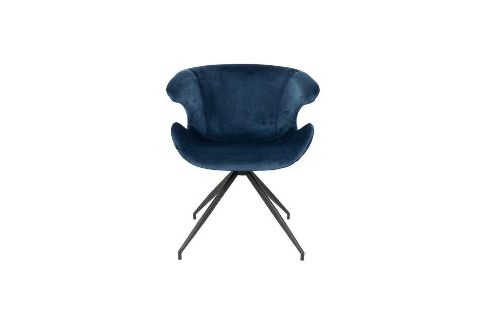 Fauteuil Mia Bleu - 10