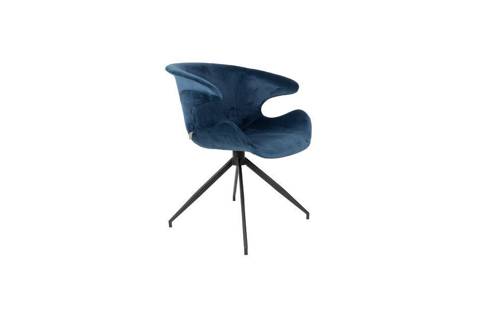 Fauteuil Mia Bleu - 6