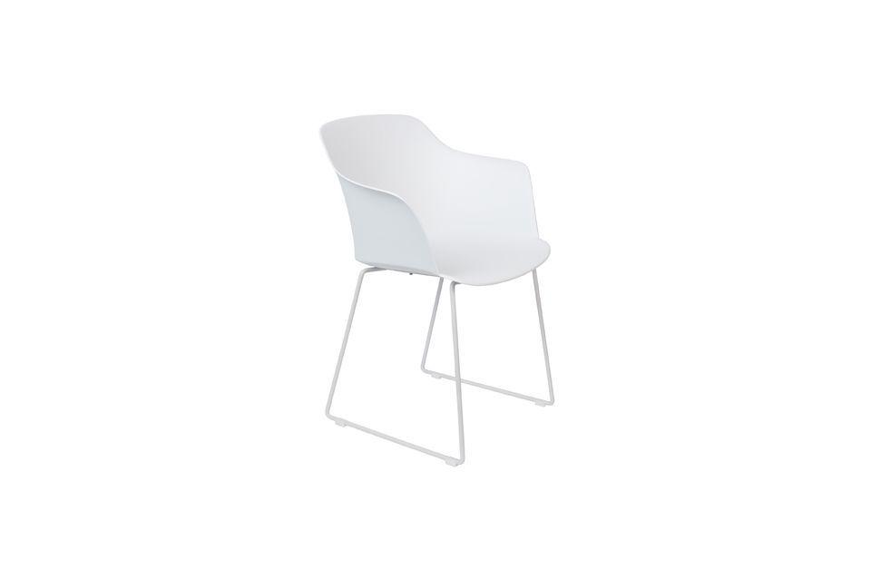 Fauteuil Tango Blanc - 5
